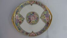 Rosenthal Selb Bavaria Donatello Art Nouveau Handled Cake/Dessert Plate-Antique