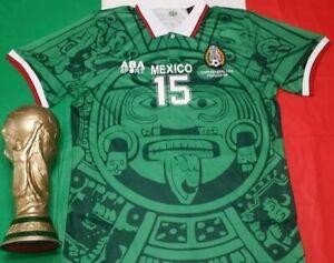 ABA Sport Mexico 1998 Luis El Matador  Hernandez #15 Green Retro Jersey Size  L