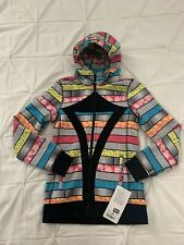 Ivivva Hoodie By Lululemon Girls Size 14 (Women's 4) Warm and Cozy Jacket NWT