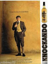 Publicité Advertising 1989 Scotch Whisky Knockando Innes Shaw