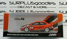 INNO64 1:64 2019 HONDA CIVIC Type-R FD2 MUGEN Autobacs #7 Make One Race 2012
