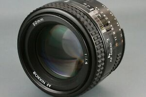 Nikon AF Nikkor 50mm f/1.4 Lens Prime Auto Focus SLR Standard From Japan #208