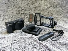 Sony Alpha A6500 Mirrorless Digital Camera withaccessories