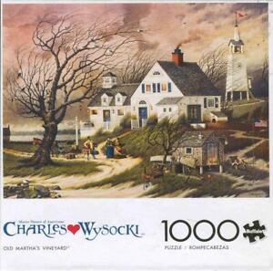 Charles Wysocki Buffalo Games Jigsaw Olde Martha's Vineyard NIB