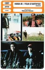 FICHE CINEMA : HANA-BI FEUX D'ARTIFICE - Takeshi Kitano 1997