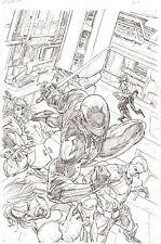 G.I. Joe #7 ORIGINAL COVER Pencil Art SNAKE EYES by Steve Kurth 11 x 17 IDW