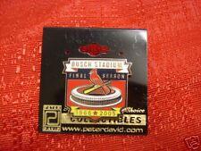 St. Louis Cardinals Busch Stadium Final Season Pin MLB