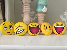 5 Emoji Plush- Mc Donald's Happy Meal Toys