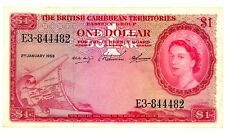 East Caribbean States ... P-7c ... 1 Dollar ... 1958 ... *VF-XF*