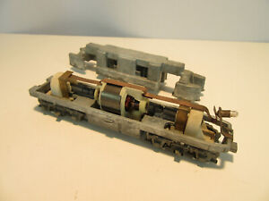 Vintage Athearn HO Scale F7 Diesel Locomotive Chassis.