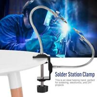 DIY Tool Solder Station Clamp Electric Iron Holder Universal Metal Arm for PCB