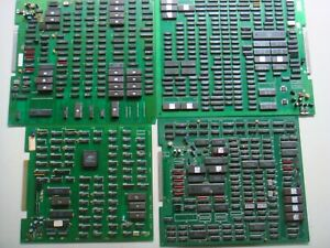 LOT 4pcs Mitchell,NMK,Toaplan,Promat/Fuuki Co,Arcade Jamma Boards bootleg AS IS