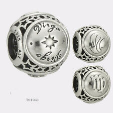NEW Authentic Pandora Sterling Silver Virgo Star Sign Charm #791941