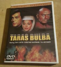 Taras Bulba DVD, Yul Bruner, Tony Curtis, and Christine Kaufmann