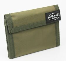Army Military Olive Dark Green Wallet