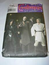 Simplicity Costume Pattern 4450 OOP Star Wars ROTJ Jedi Sz a Xs-xl Uncut
