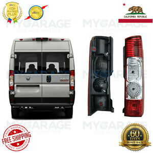 Rear Tail Light Tail Lamp for 2014 2020 RAM Promaster 1500 2500 Right Passenger