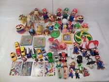 HUGE LOT OF NINTENDO TOYS & FAST FOOD PREMIUMS 1990s-CURRENT MARIO DONKEY KONG