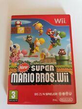 New Super Mario Bros Wii - Nintendo Wii - Pal - Deutsch - Top Zustand - Inkl.OVP