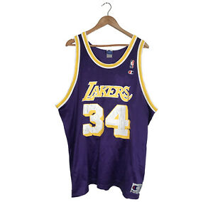 Vintage Shaquille O'Neal Champion LA Lakers jersey