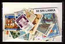 Sri Lanka 50 timbres différents