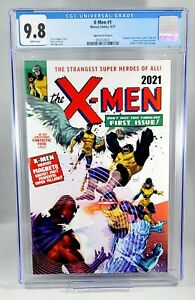 X-MEN #1 CGC 9.8 NGU EXCLUSIVE Homage VARIANT