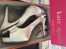 Kate Spade - Glam wedding shoes...silver starlight