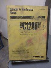 Baugewerbe Shop Manual Komatsu Pw170-5k Excavator Werkstatthandbuch 1995