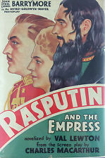 RASPUTIN AND THE EMPRESS BY VAL LEWTON *PHOTOPLAY EDITION*