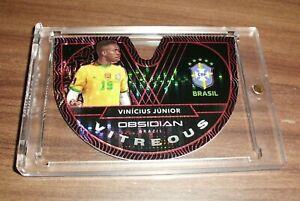 2020-21 Obsidian Vinicius Jr. Vitreous RED PULSAR /28 SSP Real Madrid INVEST🔥📈