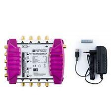 Opticum OMS 9/8 ORO LÍNEAS multi-interruptor Interruptor múltiple 2 satélites -