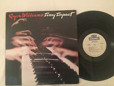 ROGER WILLIAMS - IVORY IMPACT - 1982 2-LP BAINBRIDGE RECORDS GATEFOLD POP LP