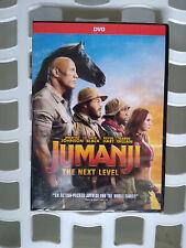 Jumanji:The Next Level (DVD, 2020) Brand New Kevin Hart Dwayne The Rock Johnson