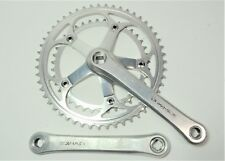 SHIMANO DURA-ACE BICYCLE 172.5 MM 51/39 TOOTH ALLOY 7-8 SPEED CRANKSET FC-7400