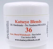 B36 Acne, Blackhead, Whithead Treatment Cream x 50ml  No Paraben/MEA/DEA
