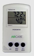 Bemis AIRCARE Indoor / Outdoor HYGROMETER Thermostat Thermometer Humidity 1990