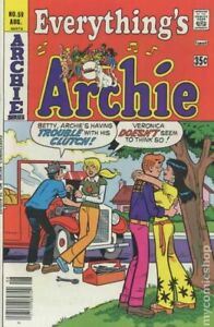 Everything's Archie #59 VG 1977 Stock Image Low Grade