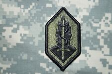 Authentic US Army Medical Research & Development Comm Subdued BDU Military Patch