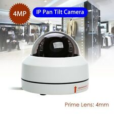 IP Camera 4MP Full HD 1080P 4mm Onvif Speed Security Dome IR Night Vision H.265