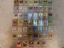 Pokemon Card Lot Random x10 -Vintage Rare Holo 1st Edition Shadowless EX GX Lv X