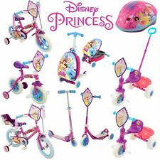 Disney Princess pink Scooter, Bike, Tri-Scooter, Protective Helmet and more!