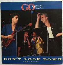 "Go West - Don't Look Down (The Sequel) Chrysalis Records 7"" Single GOW 3 EX/VG"