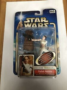 Star Wars Attack Of The Clones Padme Amidala With Quick-draw Action