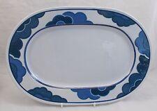 Villeroy & and Boch BLUE CLOUD oval platter 33.5cm