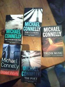 Paperback crime thriller fiction books bundle