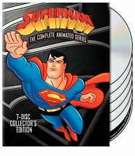 Superman Complete Animated Series DVD Collection Edition Set All TV Show Box Lot