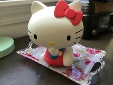 Vintage Sanrio Hello Kitty large ceramic bank 8 inch Rare