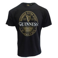 Guinness T-Shirt With Foreign Extra Stout Bottle Label Print Grey Colour