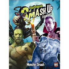 Smash Up Monster Smash Set Expansion Deck Building Card Game AEG 5506