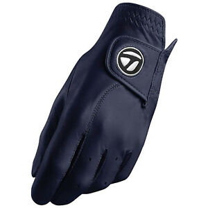 2021 TaylorMade Mens LEFT Hand Tour Preferred Navy Golf Glove Cabretta Leather